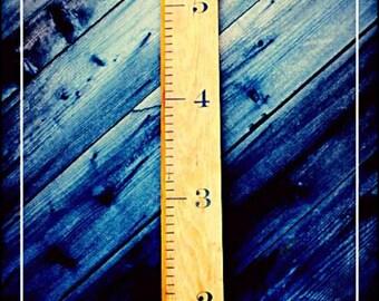 Life-sized ruler