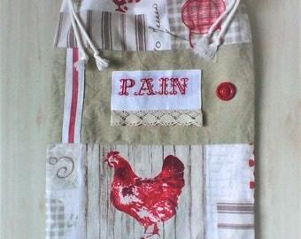 Sac pain etsy - Sac a pain tissu ...