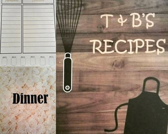 Personalized Cook Book