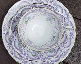 Spencer Stevenson 'Regina pattern' - Lilac