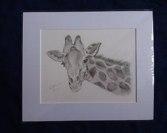 April watch 2017 giraffe limited edition print