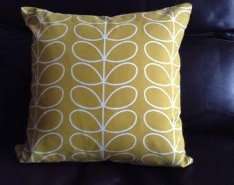 Handmade Orla Kiely cushion cover