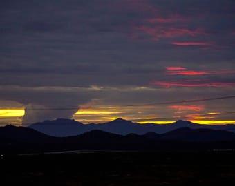 "Another ""boring"" Arizona sunset"