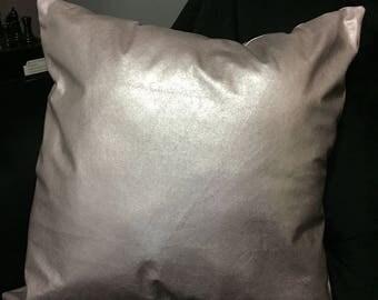 Metallic Throw Pillow