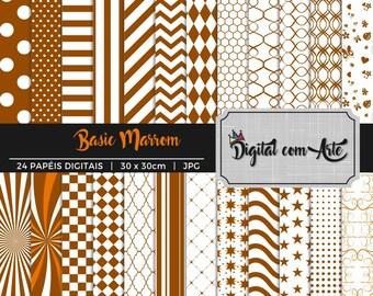 Brown Digital Paper