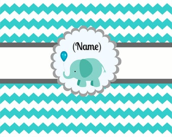 Cute Elephant Backdrop Digital