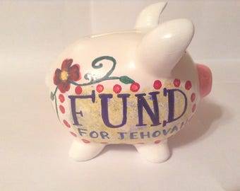 Piggy Bank Baby Family Contribution - Kid's Gift