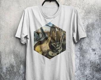 Salvador Dali T-shirt Men Tshirt Male Fashion Shirt Man Tee Art Painting T-Shirt Birthday Gift Idea For Him Men Daddy Longlegs T Shirt