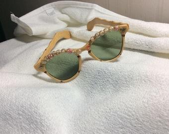 Vintage 1950's Bakelite Sunglasses