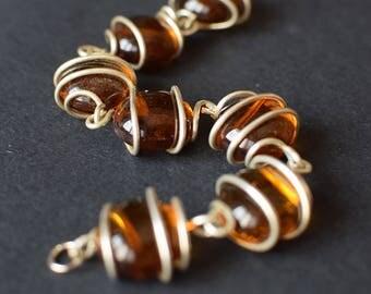 Topaz Stones Bracelet