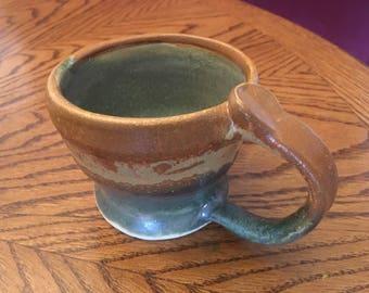 Unique Sand and Blue Colored Mug