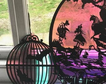 Bats in the Birdcage Wall/Window Art
