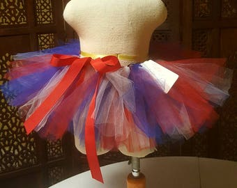Red, white, and blue tutu - size 2T and 3T... perfect for 4th of July or Memorial Day!