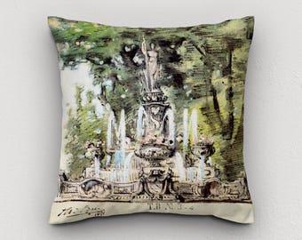 """Cushion """"La Fontaine"""""""