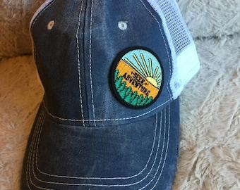 Trucker Hat/ Seek Adventure.