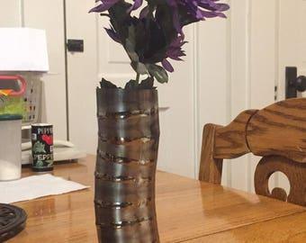 Titanium piecut vase
