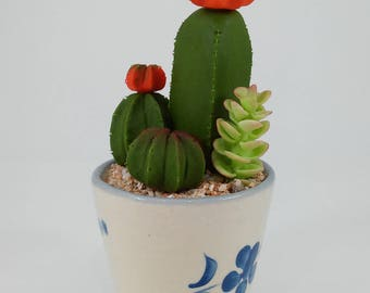 clay miniature plants,flowers and animals