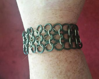 Chainmaille stretch bracelet