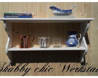 Shabby chic kitchen shelf, living room shelf, country house