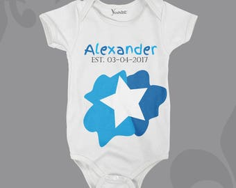 Personalised Name and D.O.B Bodysuit