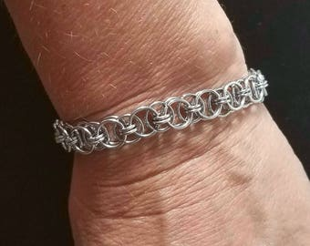 Chainmaille Stainless Steel Bracelet