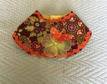 Multicolor wrap cape