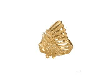 Indian Ring Gold
