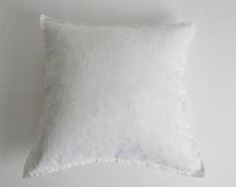 White Linen Base Cushion
