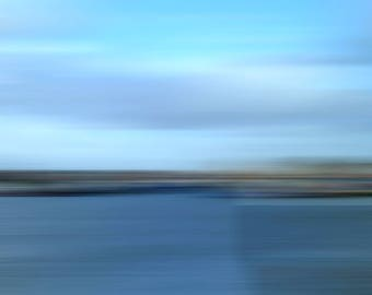 "Abstract photography ""Sea"", photo print on premium photo paper, permanently non-fading, brilliant colors"