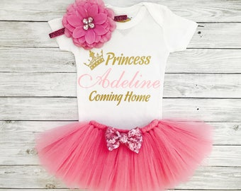 Newborn Girl, Newborn Girl Coming Home Outfit, Newborn Dress, Newborn Girl Outfit, Newborn Girl Clothes, Baby Girl Coming Home Outfit
