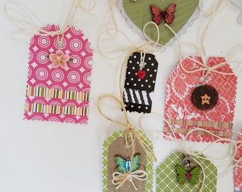 Colorful and fun Gift Tags