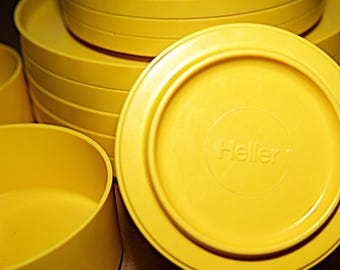 Heller Yellow Dinnerware