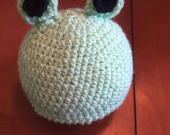 Frog Baby Hat