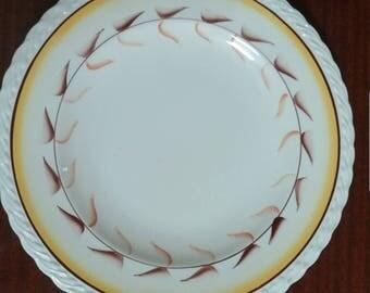 """Vintage Vernon Kilns Metlox Poppytrail Arcadia Dinner Plate 10.5"""""""