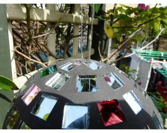 Hanging Mirror Ornament for the home or garden
