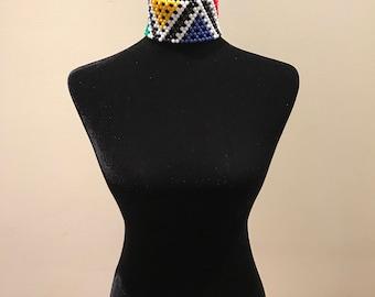 Bead Choker Necklace