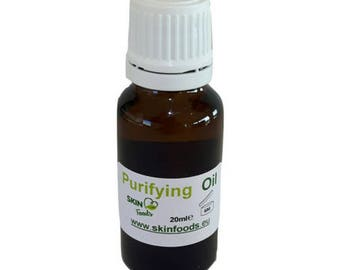 Purifying oil, , organic face care for irritated skin, acne, rosacea