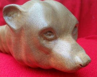 VIKING Bear Head Ornamental Axe
