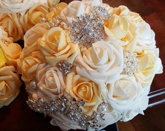 Foam flower bouquets