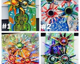 Vibrant Soda Can Pop Art