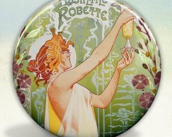 Absinthe Robette Fairy Pocket Mirror
