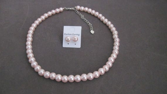 Custom listing for Shannan Snow  In Blush pink Pearls