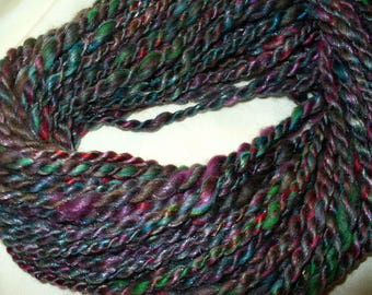 Hand Spun Wool Blend Yarn for Knitting Yarn