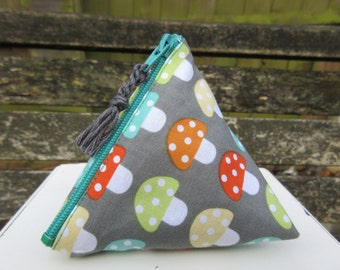 Dotty Mushroom Menstrual Cup Pouch