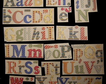 """K & Company """"Little Boy"""" Alphabet And Word Stickers"""