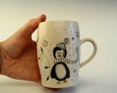 2016 Holiday Penguin Mug
