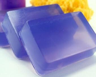 Blackberry Soap Bar, Homemade Glycerin Bar Soap