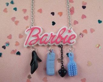 Barbie Charm Necklace