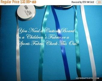 25% OFF Valentine Day Custom Memory Board French Memo Board in Your Fabric Memo Bulletin Board Fabric Board,Ribbon Board Photo Board Bulleti