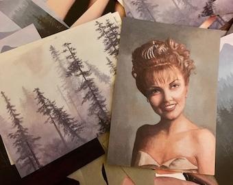 Twin Peaks Art Postcards - Set of 10